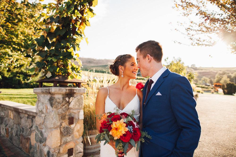 MEGHAN & ERIC - Intimate Lake Chelan Winery Wedding