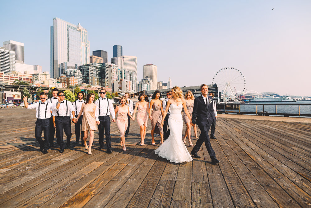 Pike Place Market Wedding Seattle Photography