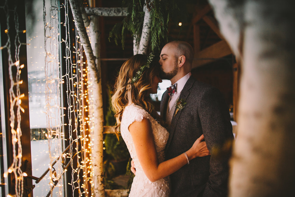BRIAN & CHELSEA - Rustic Christmas winter wedding