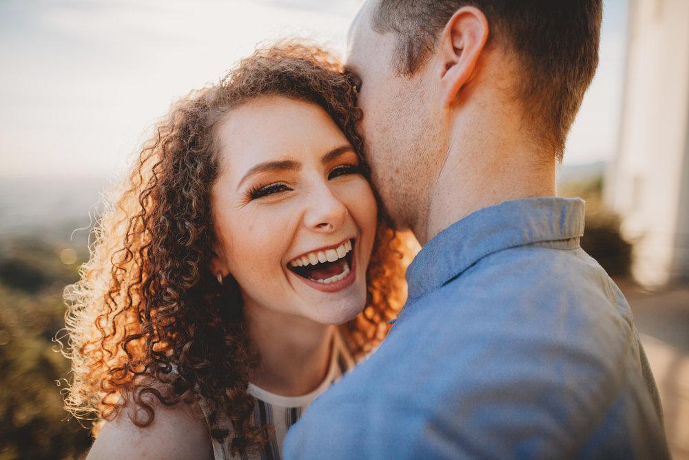CORRINNE & JESSE - Griffith Park Engagement
