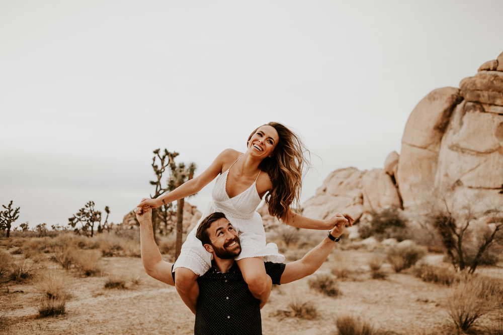 Joshua Tree Wedding Photographer | Palm Springs Engagement Photographer | Palm Springs Wedding Photographer | Los Angeles Wedding Photographer | Tida Svy | www.tidasvy.com