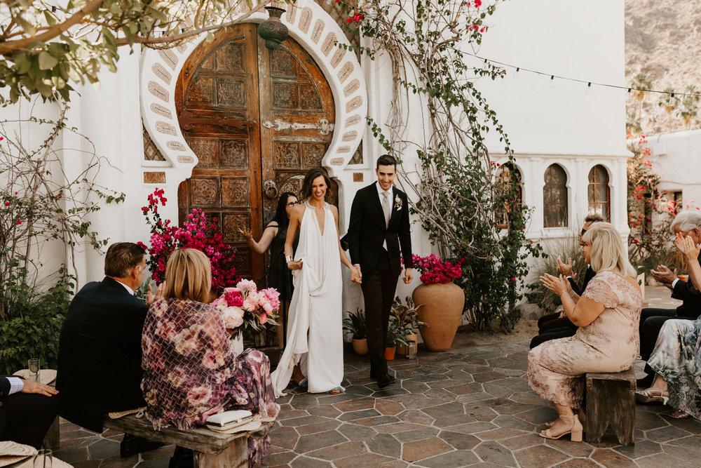 ASHLEY & SEAN - Korakia Pensione Palm Springs Wedding