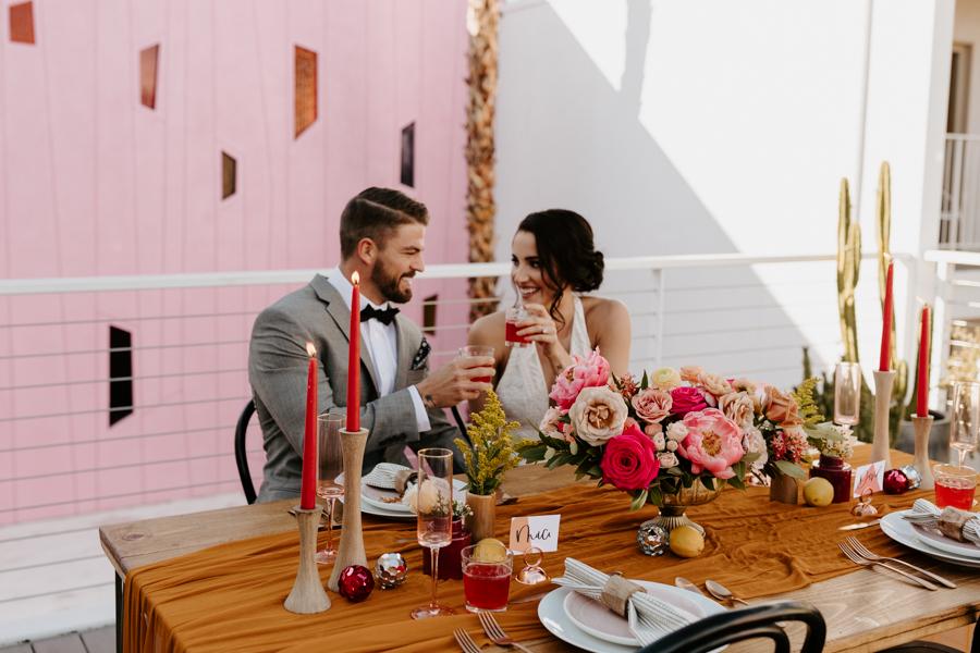 RACHELLE & NEIL - The Saguaro Hotel Palm Springs Wedding