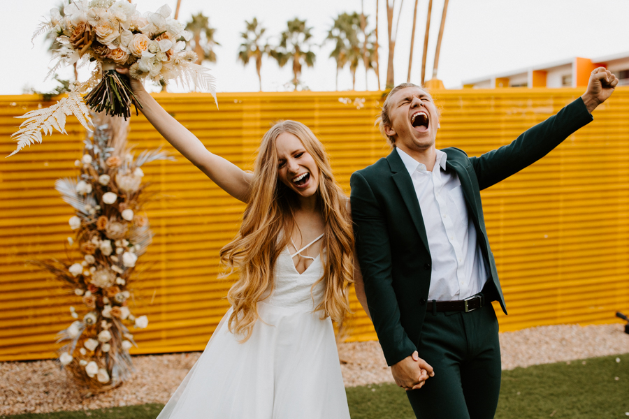 GABE & MICHELLE - The Saguaro Hotel Palm Springs Wedding