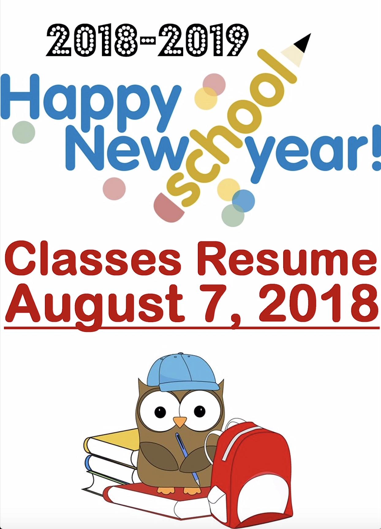 Classes Resume For 2018 2019 School Year Boulder Creek Pto