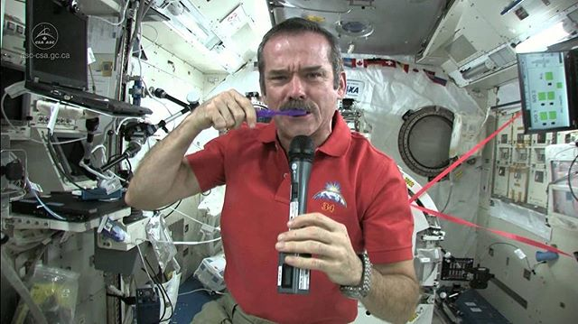 Ever wonder what it's like to live in space? It's quite different than living here on Earth! Watch Chris Hadfield demonstrate simple tasks in space in this awesome video! http://tinyurl.com/zpoyhn7 #astronaut #space #chrishadfield #outerspace #spaceship #nogravity #solarsystem #science #stem #sciencefair