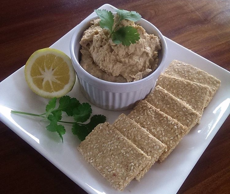 Hummous with Sesame Oat Crackers.jpeg