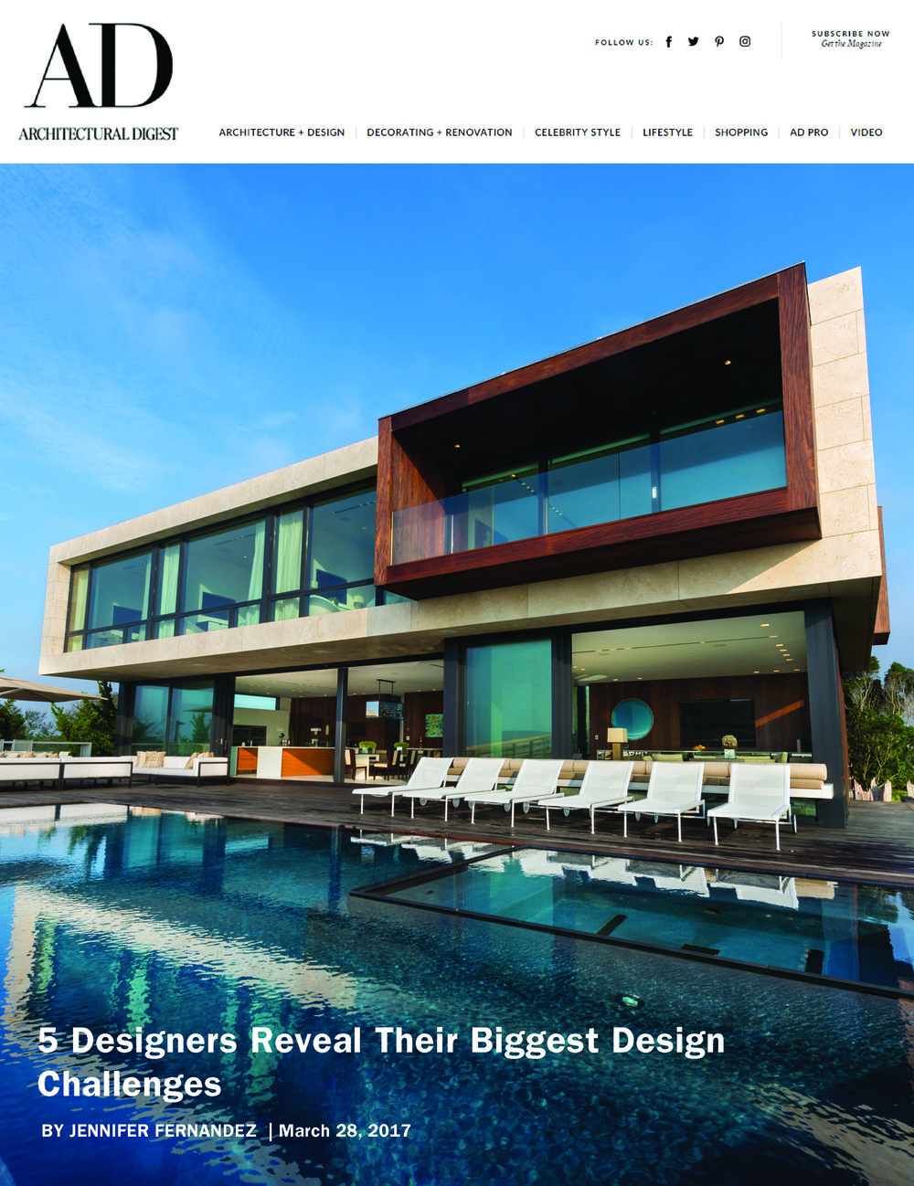 Architectural Digest Online