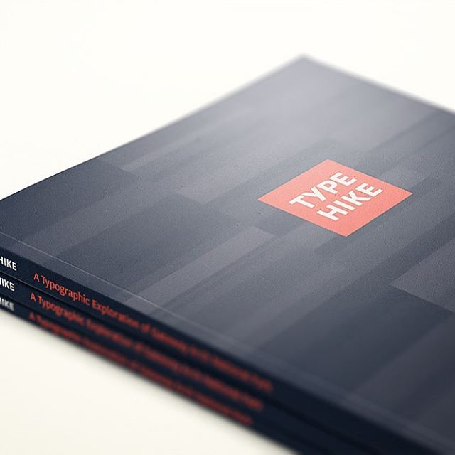 Preorders on our new book, ARCH, featuring a full-page print of all 60 submissions to our 5th series, ends on April 21st. . Get yours today at typehike.com/products/arch-book !