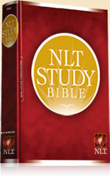 NLT Study Bible giveaway.