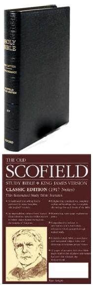 Scofield Study Bible, King James Version.