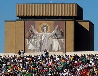 Touchdown Jesus, Notre Dame Stadium