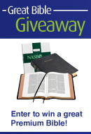 Gogos Great Bible Giveaway.