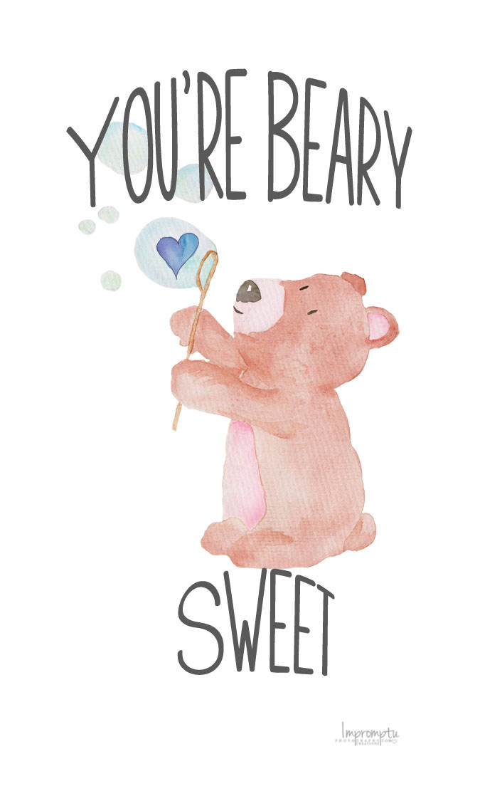 You're Beary Sweet Valentine