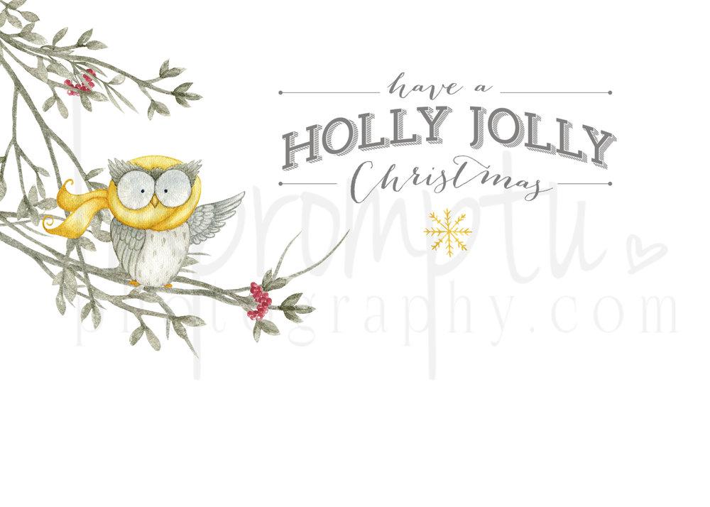 7x10-Owls HaveaHollyJollyChristmasOUTSIDE.jpg