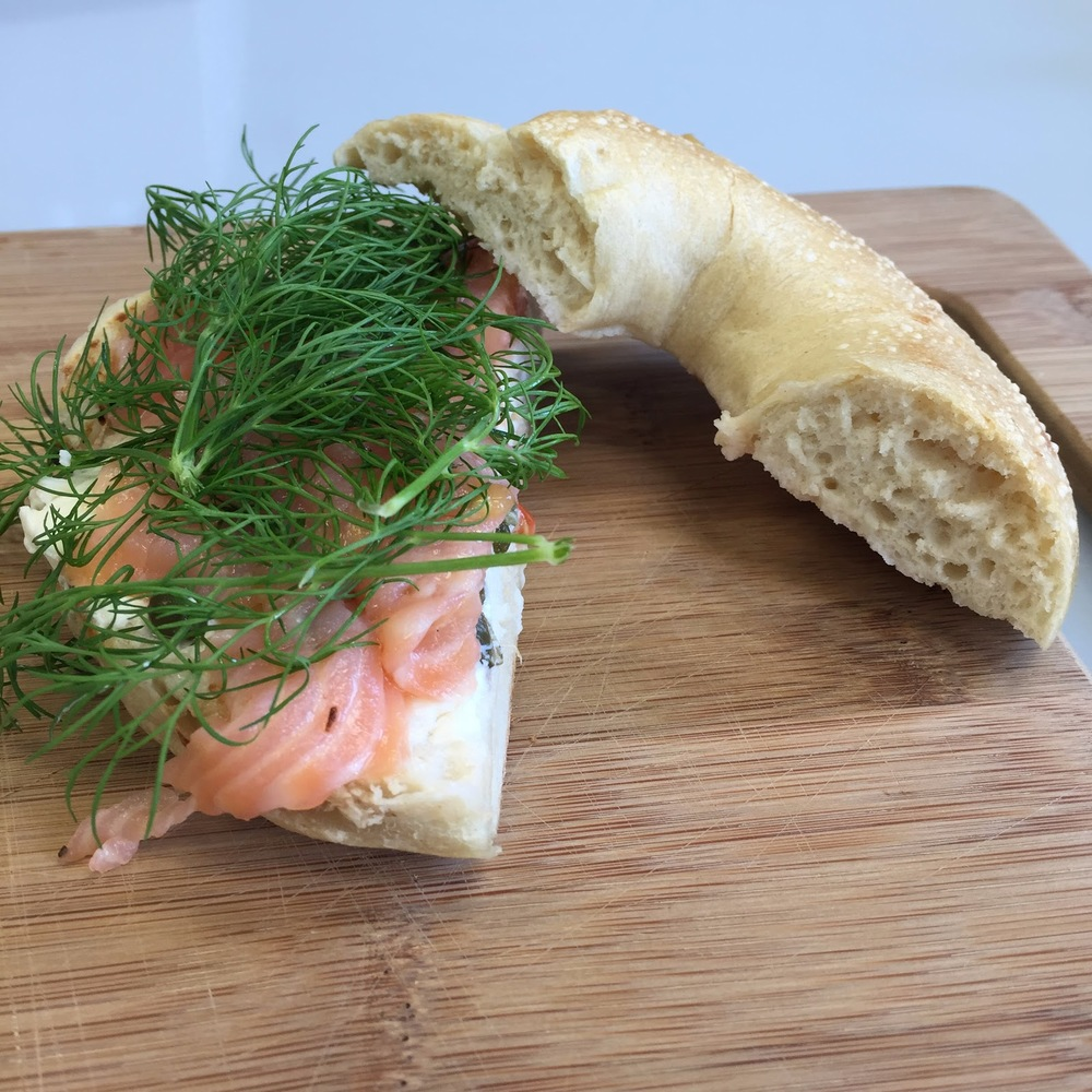 Put fresh dill fronds on salmon, in a dip or even on your lox.