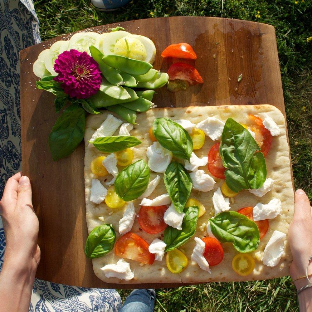 Summer Grilled Flatbread