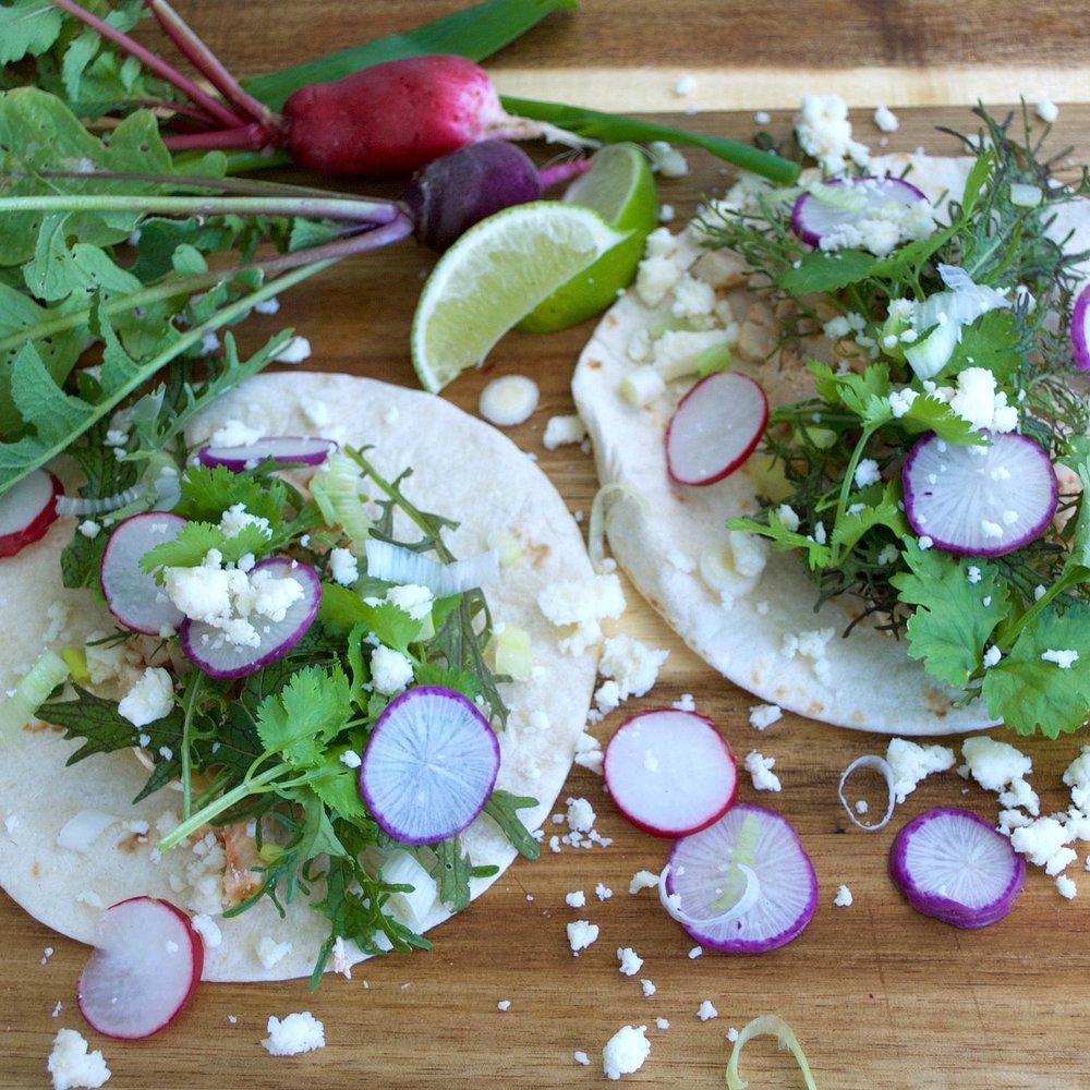 Rainbow Tacos Recipe