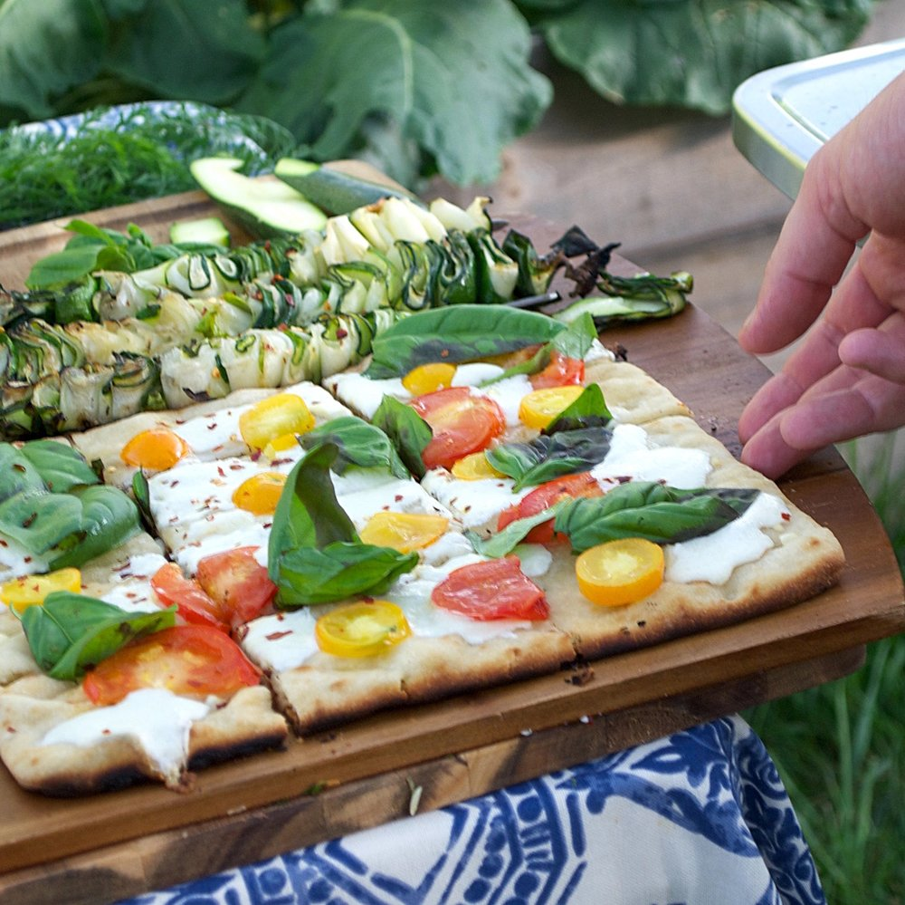 Summer Grilled Flatbread