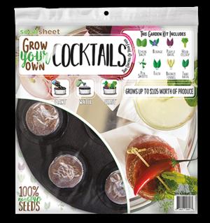 GYO Cocktails Seedsheet