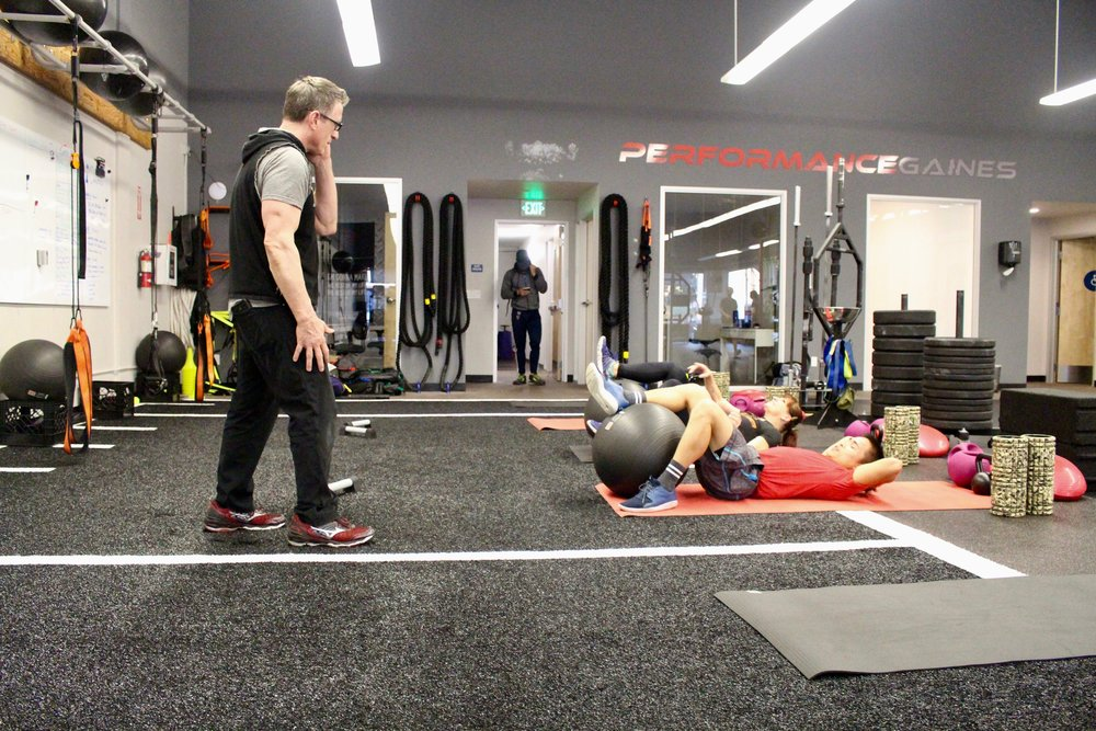 Core Conditioning - Instructors: Mike Bazzel & Arian Soltero