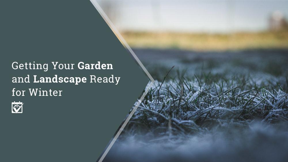 winterize your garden