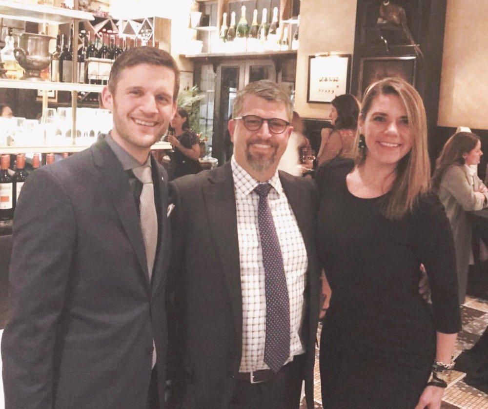 At the Chicago Association of Realtor Awards, 2018