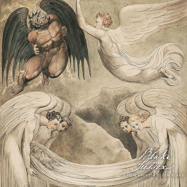 On this day in 1800 William & Catherine Blake left London and departed for a new life in Felpham, Sussex. It is in Sussex that Blake would write the words to our National song 'Jerusalem'. _______________________________________  #Williamblake #catherineblake #blake #arthistory #engraving #felpham #symbolism #Mysticism #Poetrybook  #Spiritualbeing #Sussex  #Visionaryart  #Mystical #Romanticpoetry #copperengraving #darkartist #psychedelia #wordsmith  #turner #blakeinsussex #onlythedarkest #william blake #printmaker #bookart #sussexdays