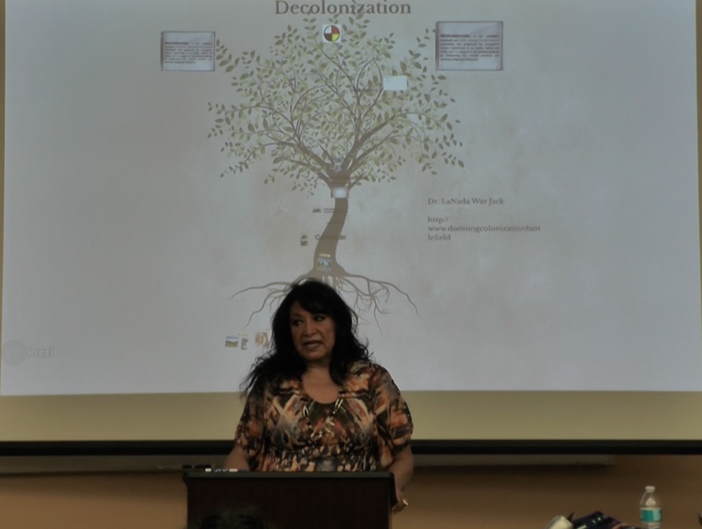 LaNada War Jack at the 2015 Sacred Roots Language Conference