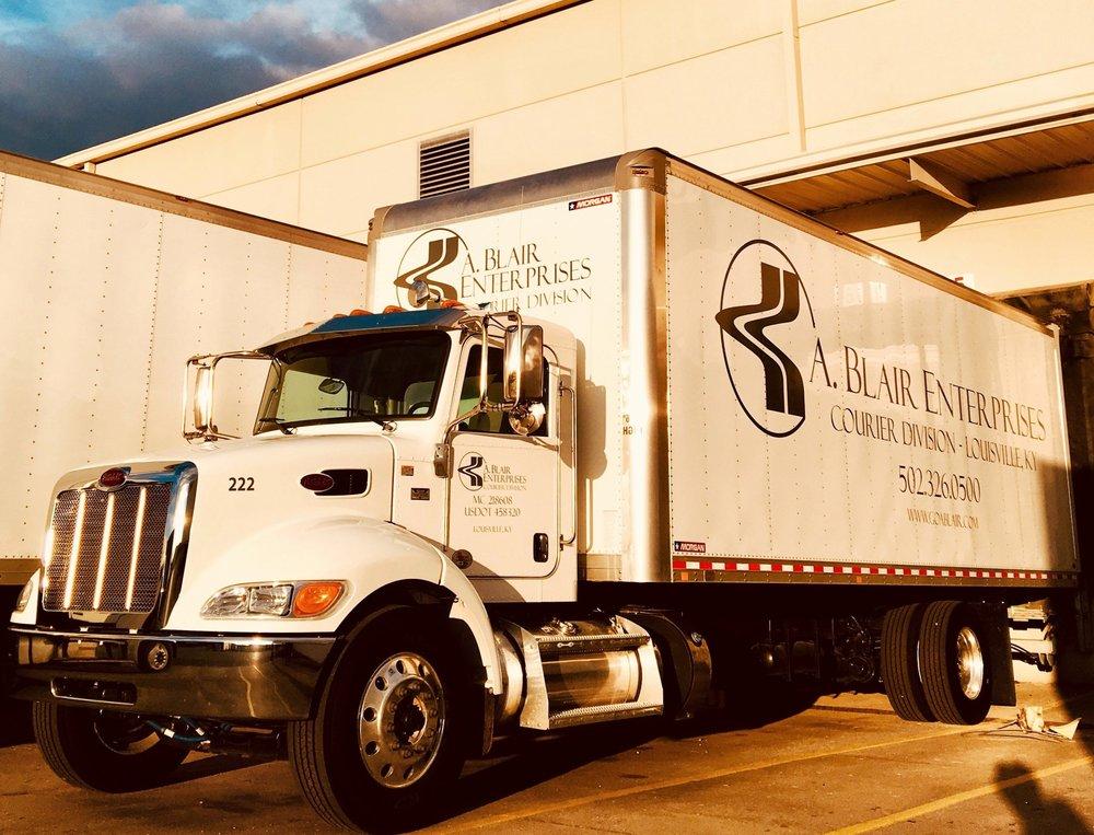 A. Blair Straight Truck Local Shipping