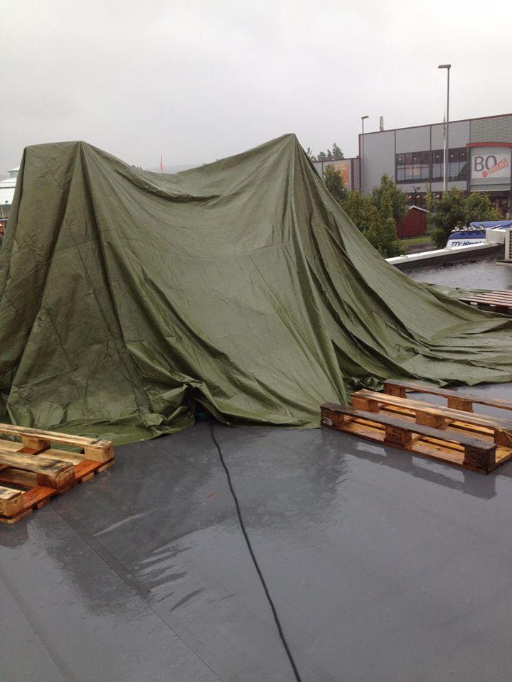 AirCondition montasje på taket