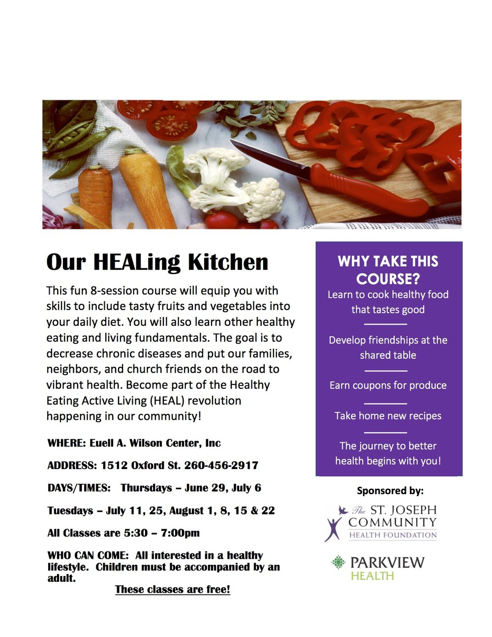 Our Healing Kitchen