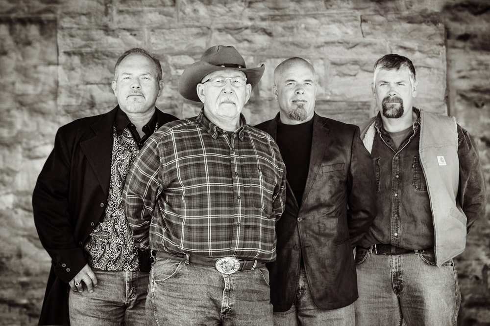 Left to Right: Ted Kuck, Russell Kuck, Dave Kuck, Bob Kuck