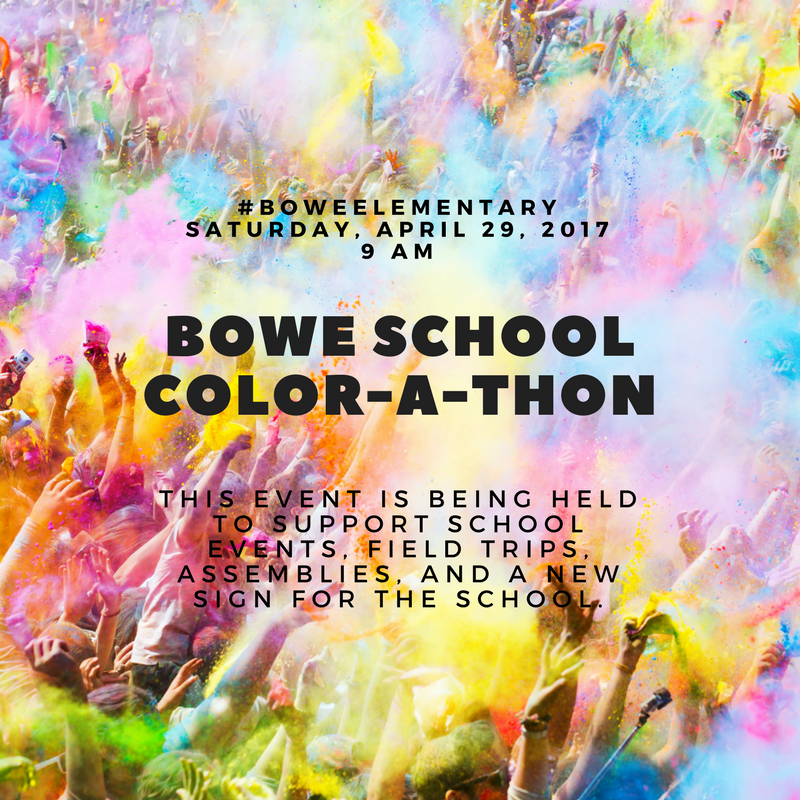 Bowe School Color-A-Thon