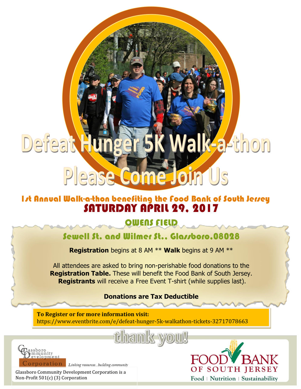 Defeat Hunger 5K Walk-a-Thon