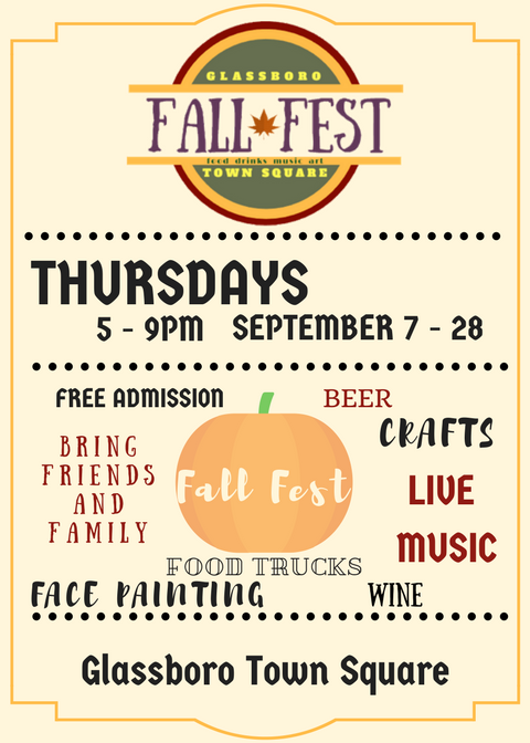 Glassboro Town Square Fall Fest