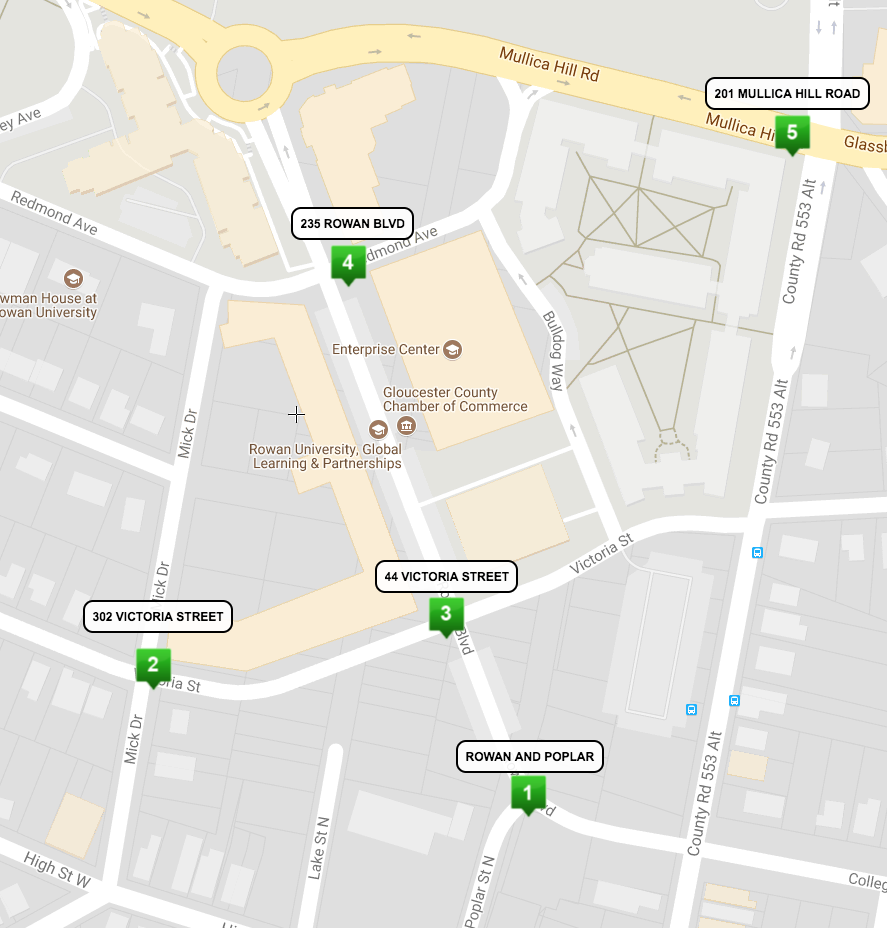 glassboro kiosk locations
