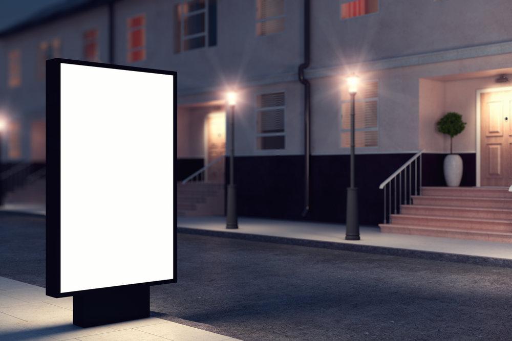 LCD KIOSK ADVERTISING