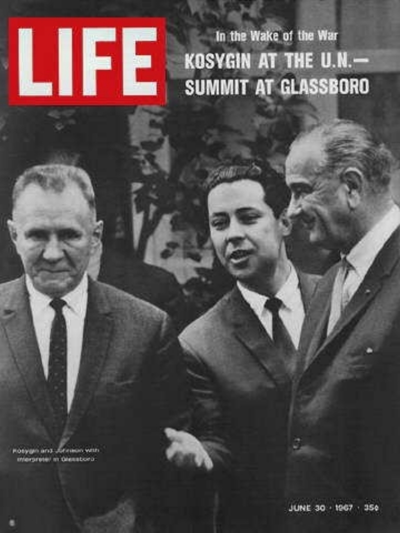 life magazine glassboro summit