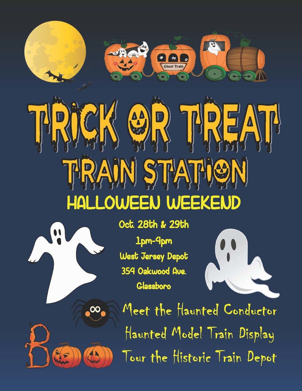 Glassboro Trick or Treat Train Station