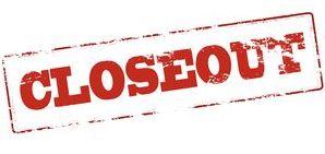 glassboro closeout