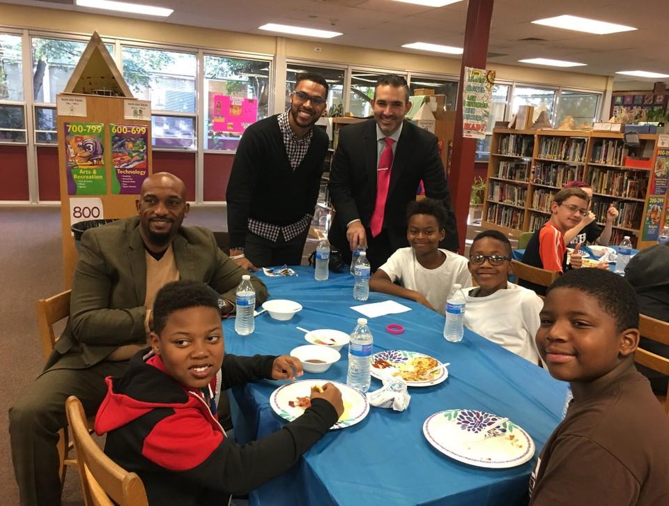 Glassboro celebrates 10 year anniversary of 'Real Men Read' program