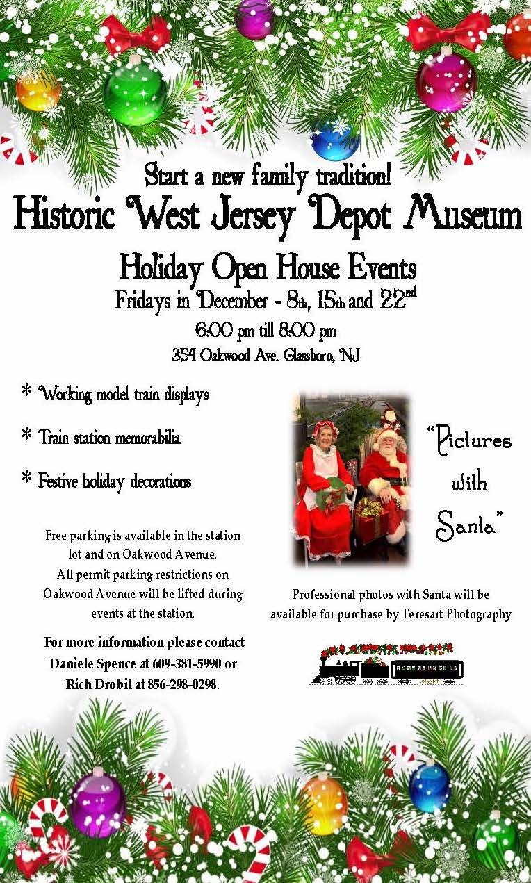 Historic West Jersey Depot Museum Holiday Open House — Official ...