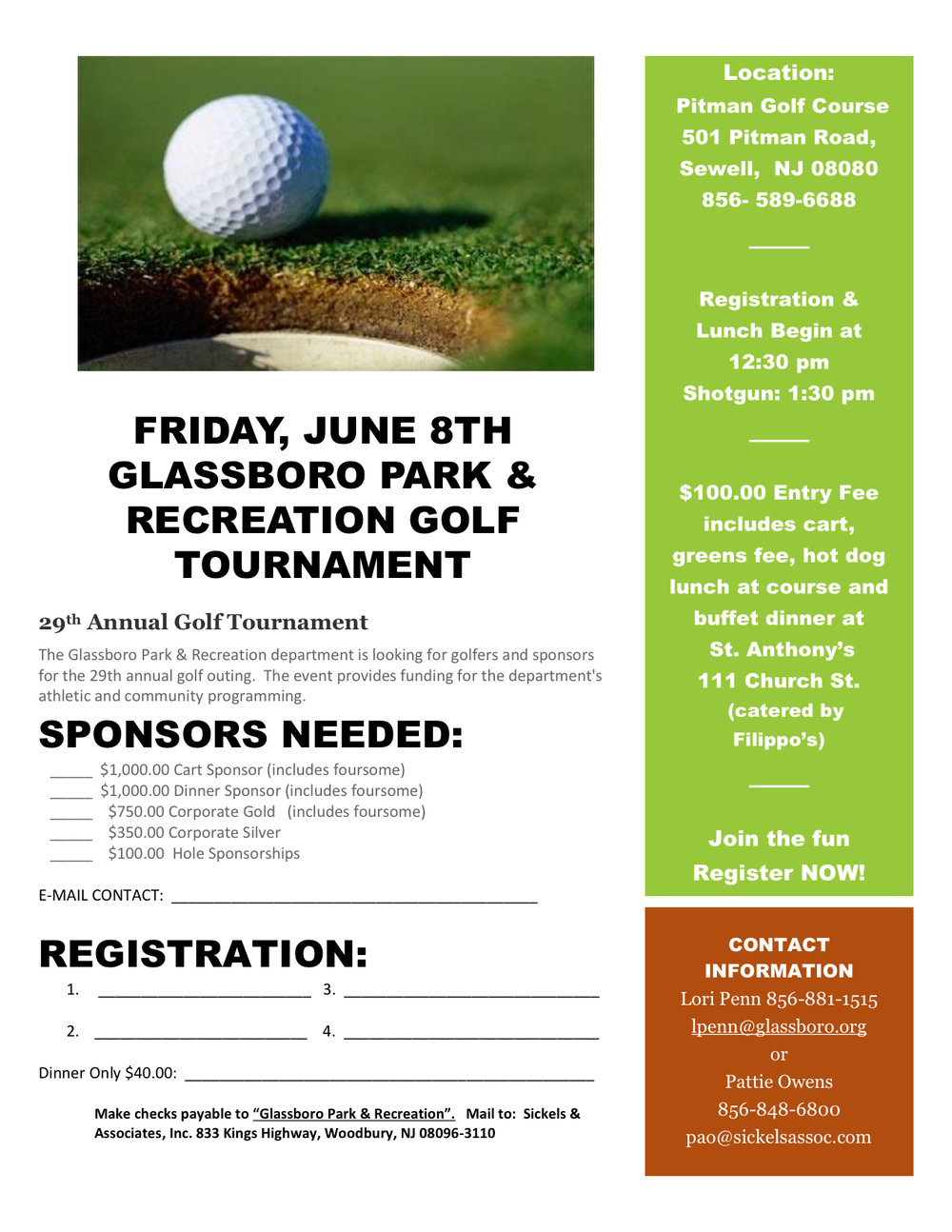 2018 PARK AND RECREATION GOLF TOURNAMENT FLYER.jpeg