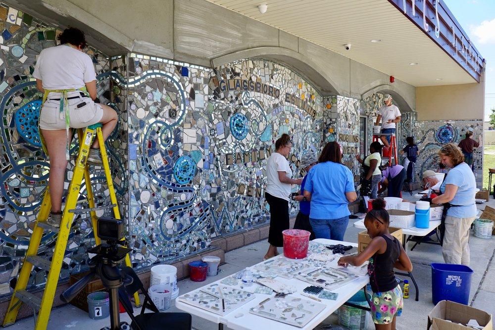 Isaiah Zagar Mosaic Mural for glassboro10.jpg