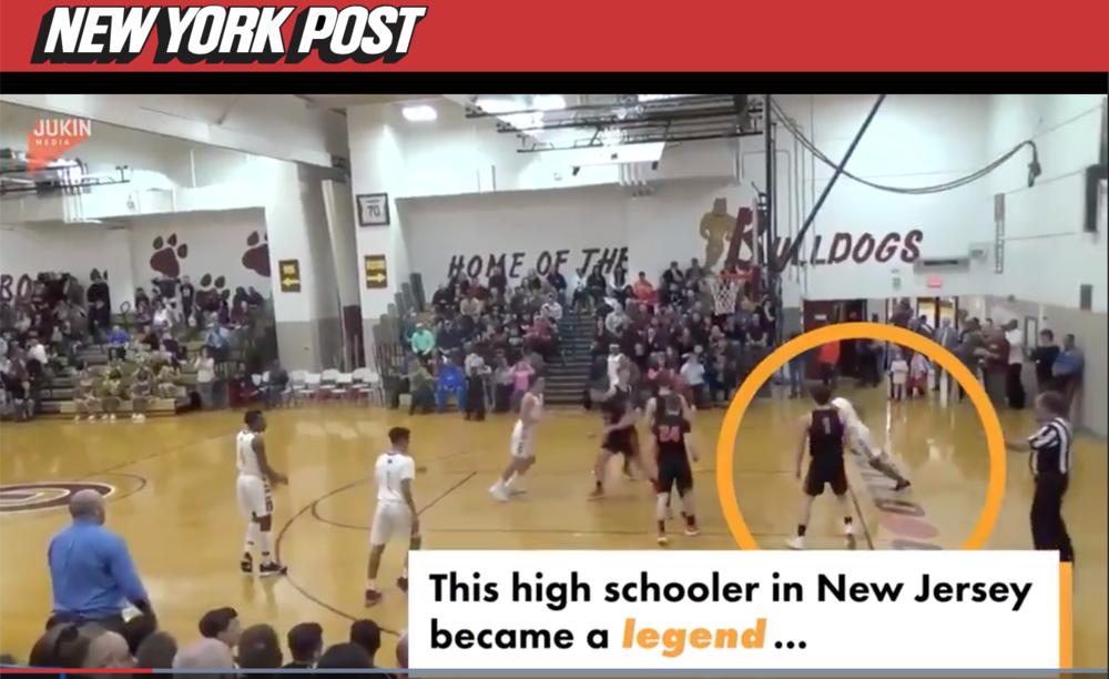 glasbboro Teen basketball player makes epic full-court shot