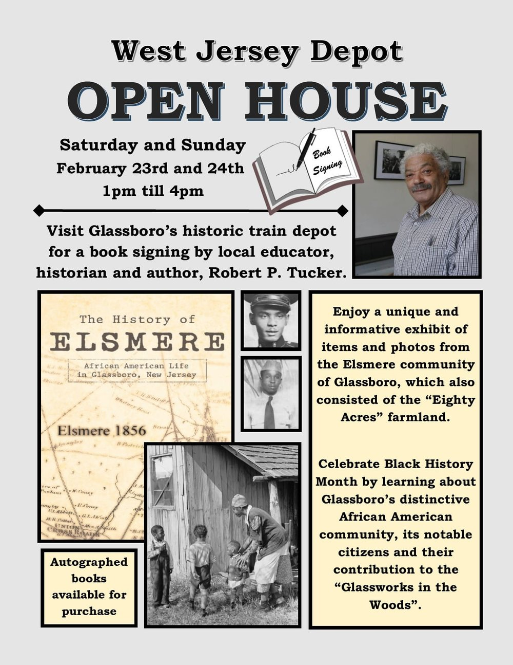 West Jersey Depot Feb Open House Book Signing Official Website