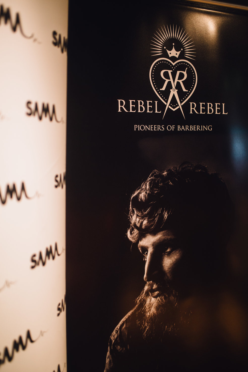 Looking good: Rebel Rebel Barbers & Scottish Alternative Music Awards continue their partnership into 2017. Photography by Cameron James Brisbane.