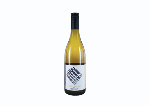 Guardian Cellars Newsprint Chardonnay   2016