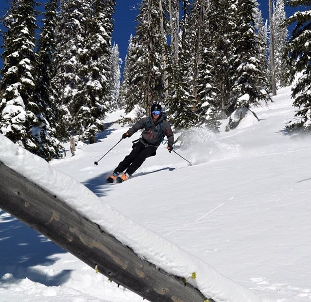 Testing out some new touring skis this weekend!